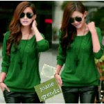 joanne-hijau-baju-rajut-korea-murah-di-bandung-