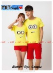 Kaos Couple Minion eye 1