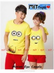 Kaos Couple Minion eye 2